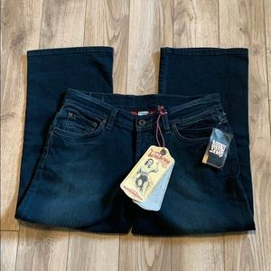 💛New L💛 Lucky Brand Easy Rider Crop Jeans